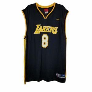 Reebok LA Lakers Kobe Bryant 8 Jersey Graphic 2XL